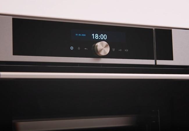 Pelgrim oven bediening TFT met centrale knop