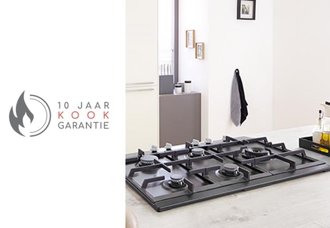 gas kookgarantie