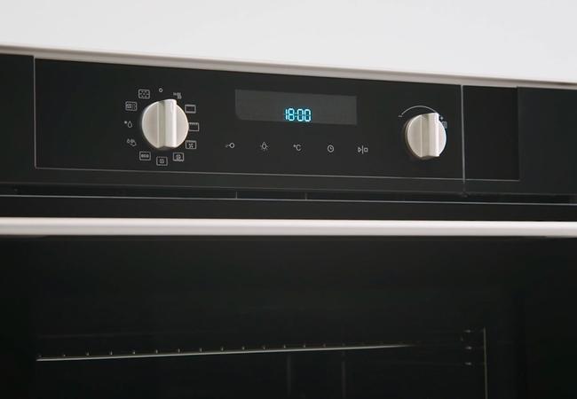 Pelgrim oven bediening met knoppen