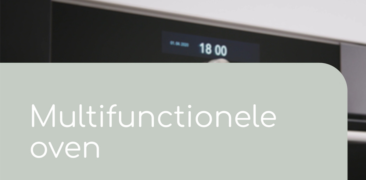 Multifunctionele oven