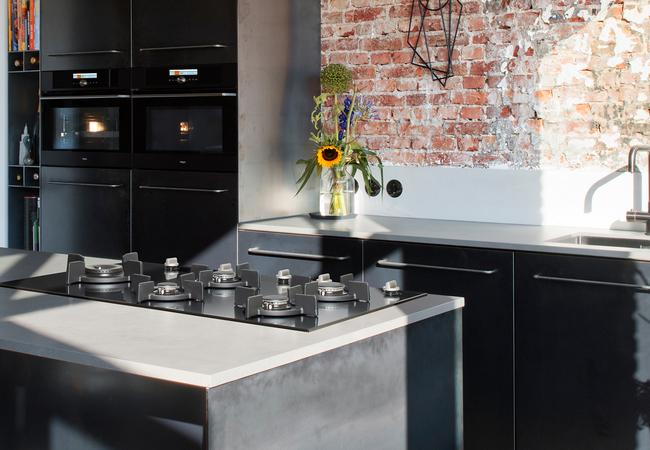 Pelgrim keuken met gaskookplaat