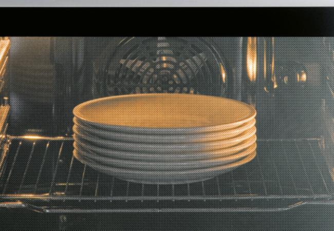 Borden voorverwarmen Pelgrim oven