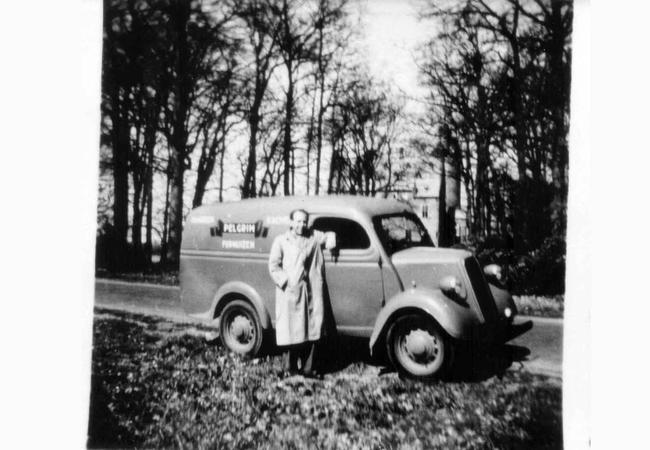 Pelgrim_Historie_beeld_1952